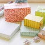 Regalos envueltos con papel daydream