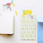 Sobres y clips con papel DayDream