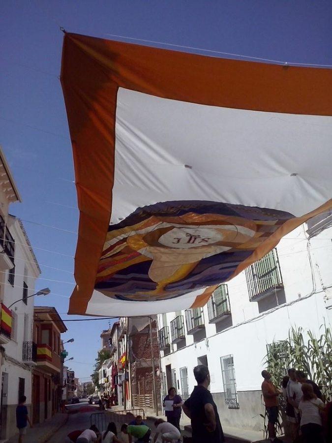 Paneles y toldos decorados para el corpus christi blog for Material para toldos correderos