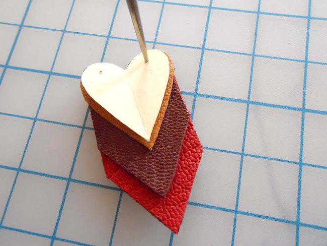 DIY colgante corazon
