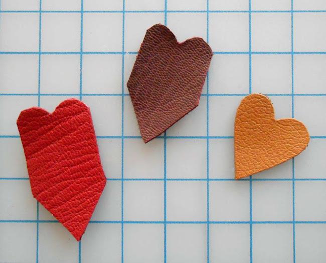 colgante corazon piezas