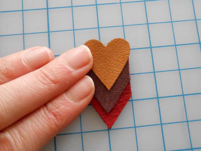 como hacer colgante corazon