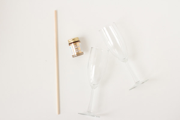 copas champagne materiales