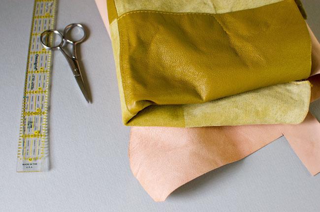 portaretratos piel materiales