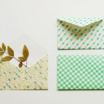 sobres packaging con papel childhood