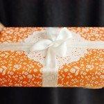 Packaging papel childhood naranja