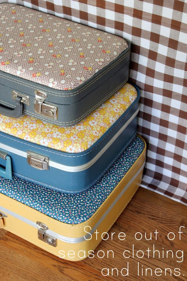 forrar una maleta portada