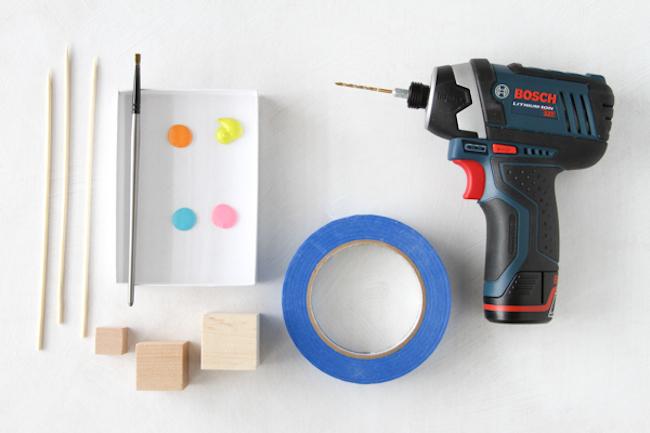 decoración cócteles materiales