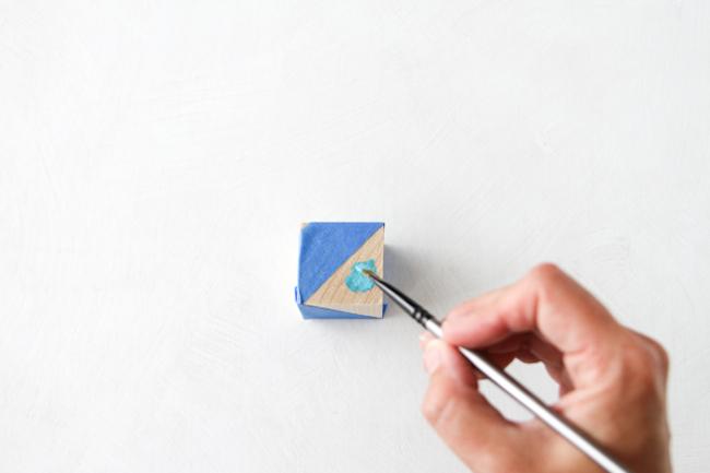 decoración cócteles pintura