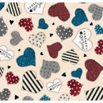 fat quarter simply gorjuss corazones