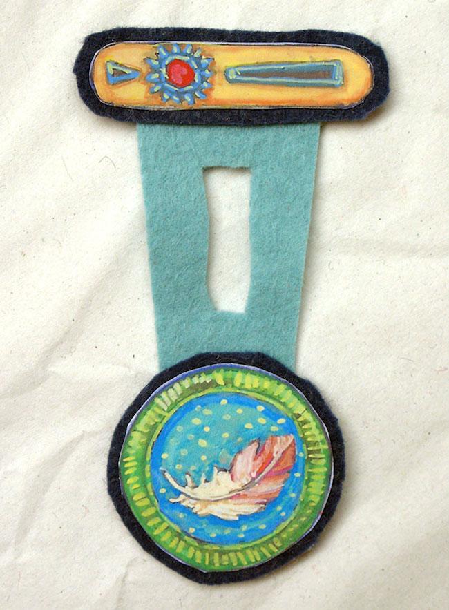 medallas niños fieltro 2