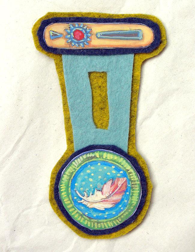 medallas niños fieltro 3