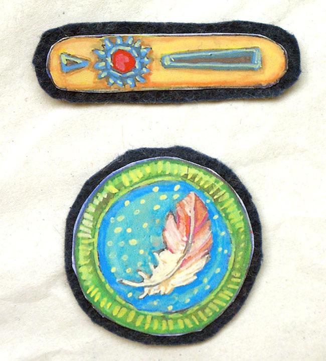 medallas niños recortes