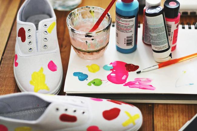 personalizar zapatillas materiales