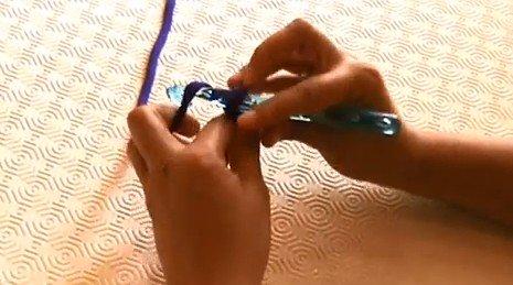 tutorial crochet xxl punto de cadeneta