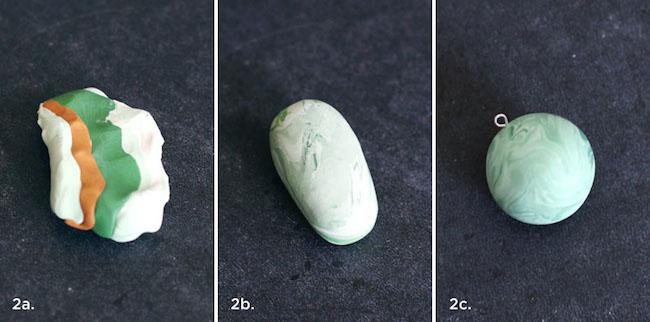 collar imitacion jade paso 1