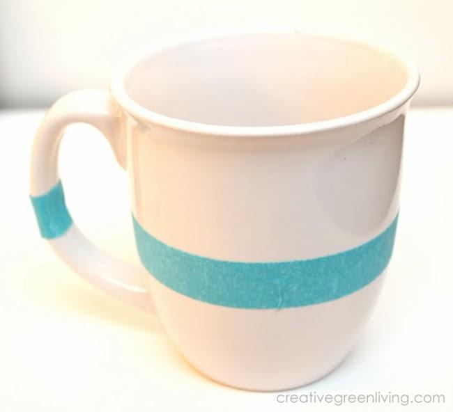 como hacer tazas decoradas 1