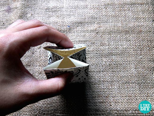 cajita cartón paso 4
