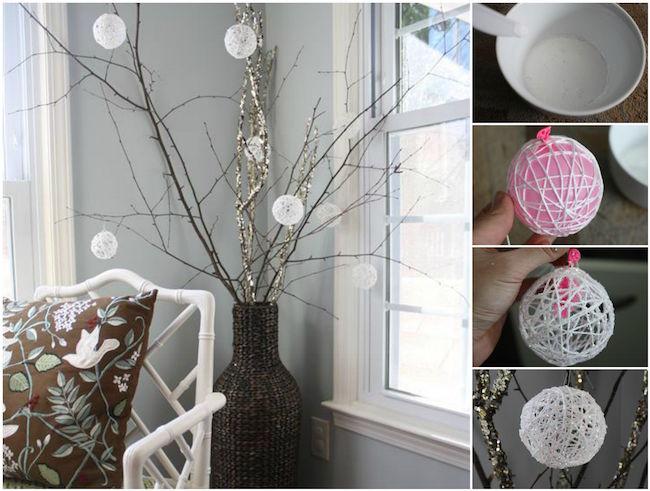 C mo hacer bolas de navidad brillantes para adornar tu casa blog material para manualidades - Pasos a seguir para echar a tu hijo de casa ...