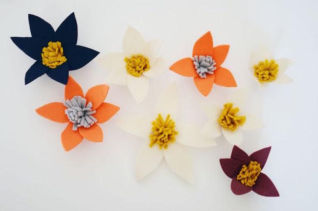 corona flores paso 4