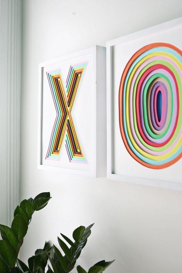 Cómo hacer un cuadro personalizado con textura usando foam - Blog ...