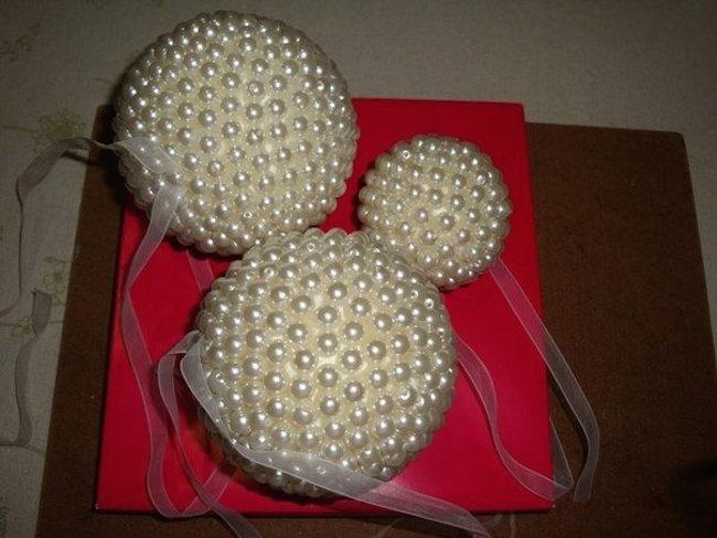 Como Hacer Elegantes Bolas Decorativas Para La Navidad Blog - Como-hacer-bolas-de-navidad