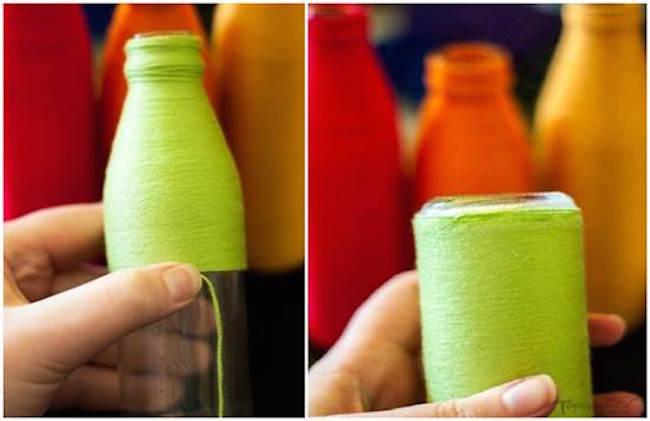 maceteros botella paso
