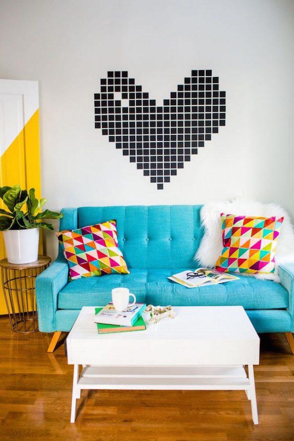 washi tape decoracin paredes