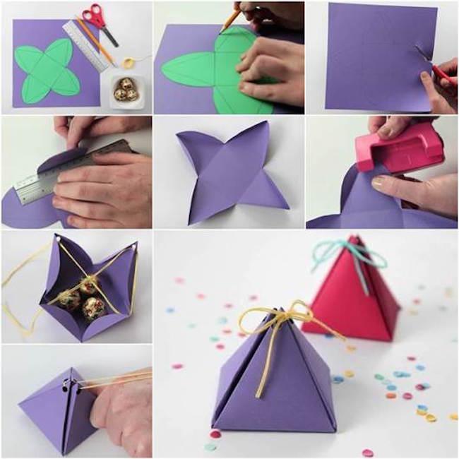 caja regalos tutorial