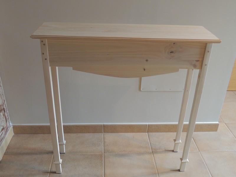 C mo decorar una consola o mueble de madera for Decorar muebles de madera