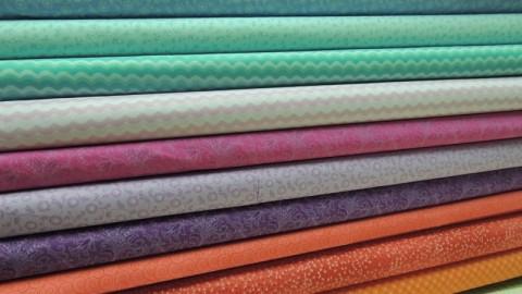 colección de telas harmony para patchwork