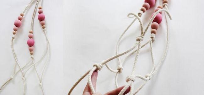 cuerdas macetas paso a paso