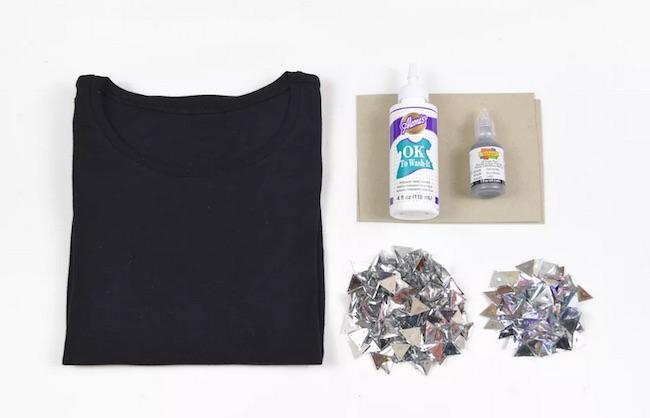 personalizar camiseta materiales