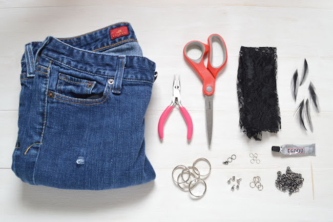 collar jeans materiales