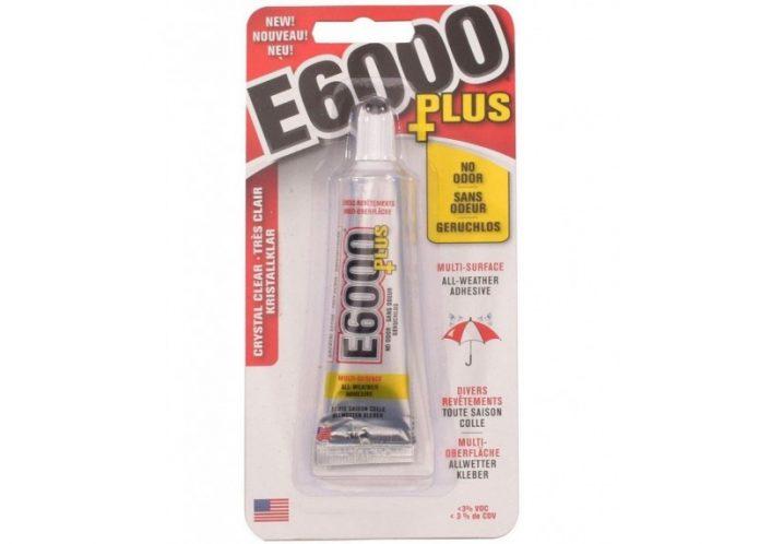 pegamento E6000 Plus de 26,6 ml