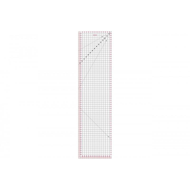 regla para cortar de 15 x 60 cm