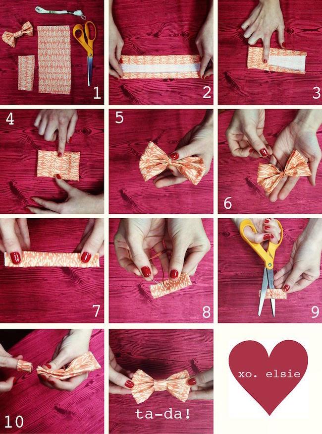 Cómo hacer pinzas para el pelo en forma de lazo - Blog material para ... 19278c6b983a