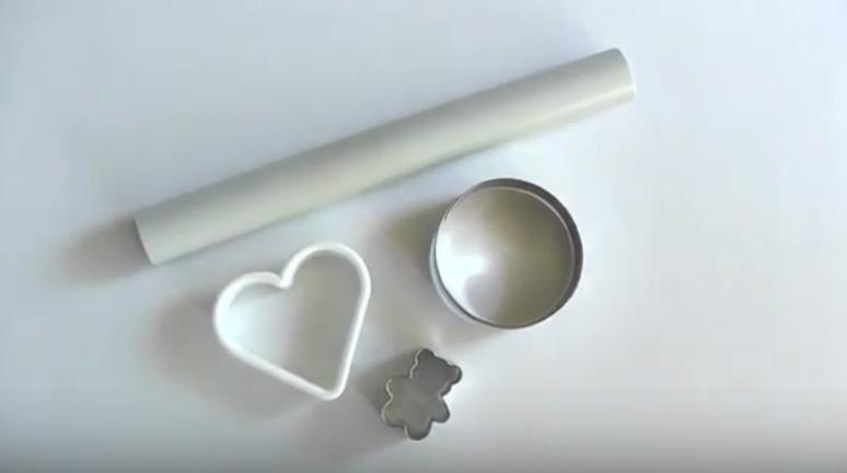 Moldes para pasta de modelar
