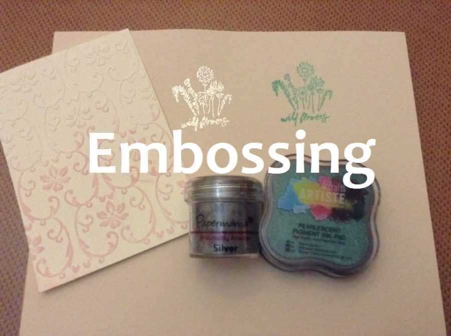 Aprende a realizar embossing