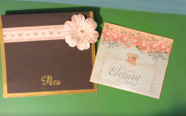 Sobres y tarjetas para bodass