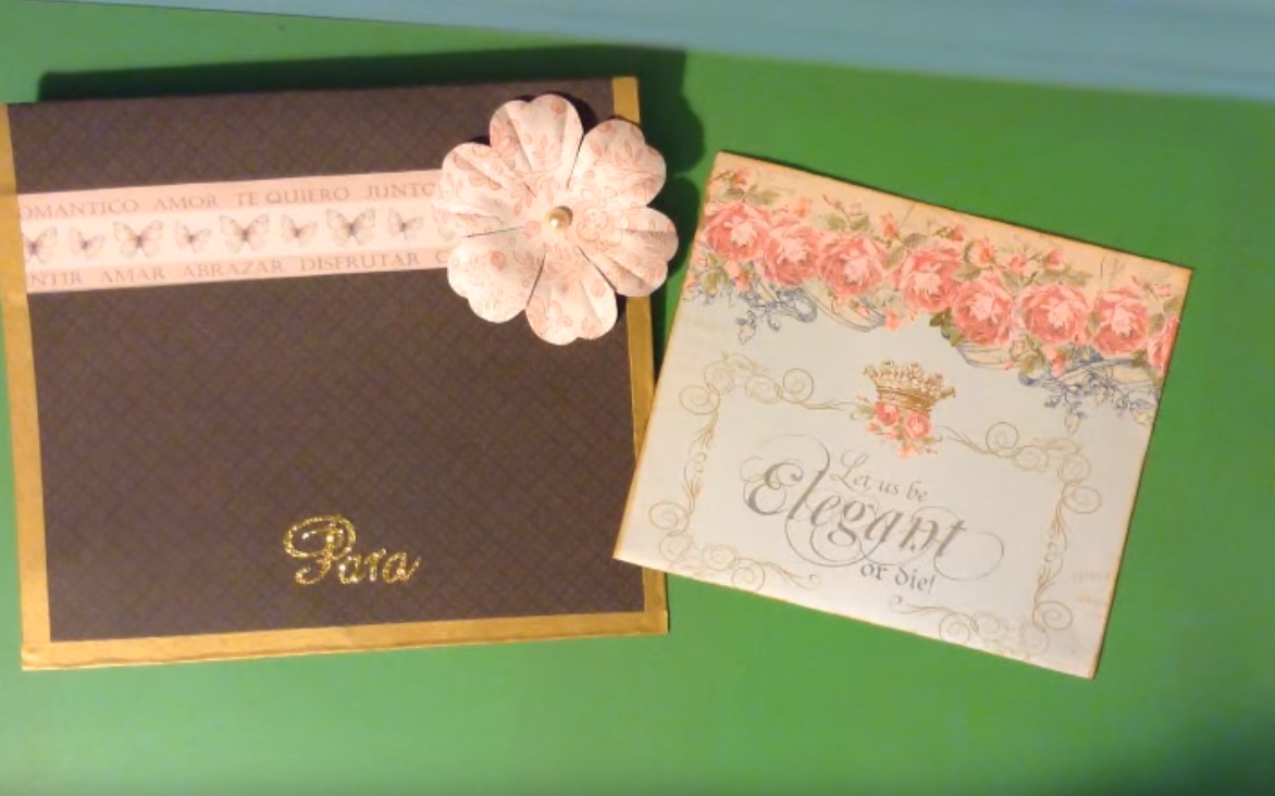 C mo hacer tarjetas para bodas blog material para - Como hacer tarjetas de boda ...