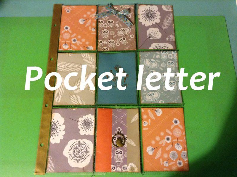 pocke tletter tutoriales para manualidades de scrap
