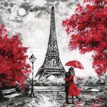 Servilleta para decoupage Torre Eiffell vintage