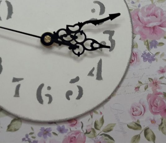 Cómo hacer un reloj de madera