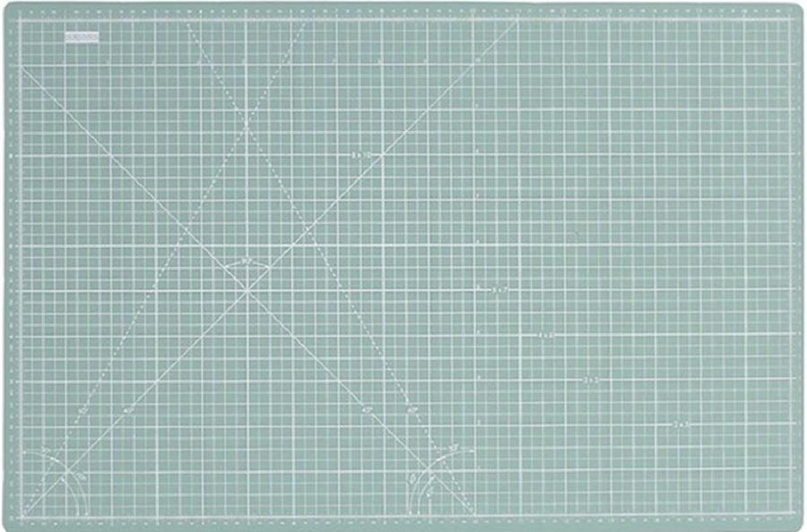 Base de corte doble cara 45x30 azul agua - Materiales básicos en scrapbooking