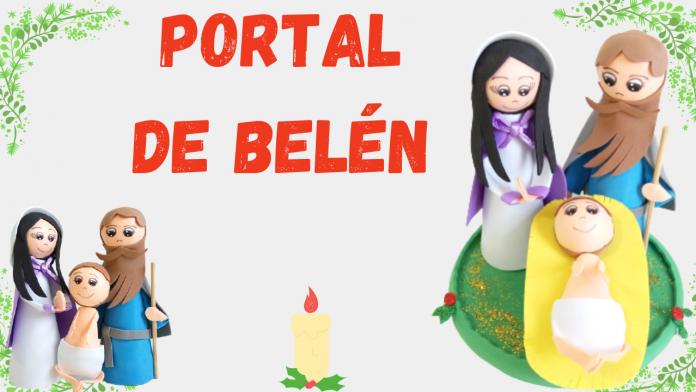 Como hacer un portal de Belén con fofuchas